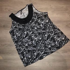 Susan Lawrence sleeveless top with embellishments